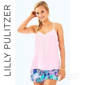Lilly Pulitzer Dusk Racerback Velvet Top